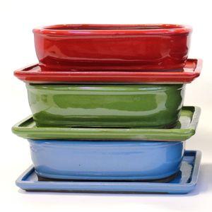 BASIC Tiesto ovalado 25 cm con plato colores