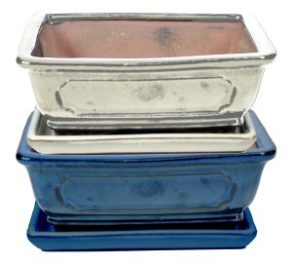 BASIC CLASS Tiesto rectangular 30 cm con plato colores