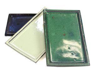 Plato rectangular 25 cm colores