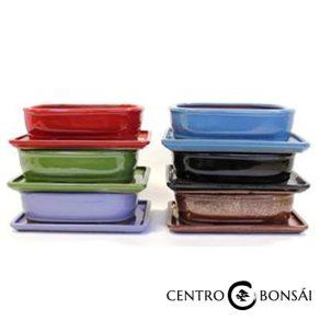 BASIC Tiesto ovalado 20 cm con plato colores