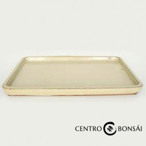 Plato rectangular 16 cm Color Crema