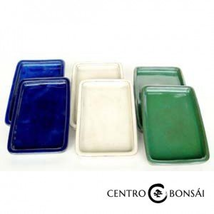 Plato rectangular 16 cm colores