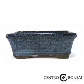 Tiesto rectangular 14 cm azul