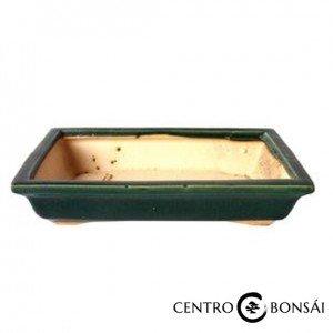 Tiesto rectangular 25 cm verde