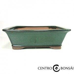 Tiesto rectangular 31 cm verde